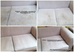 DIY carpet cleaning Melbourne damage