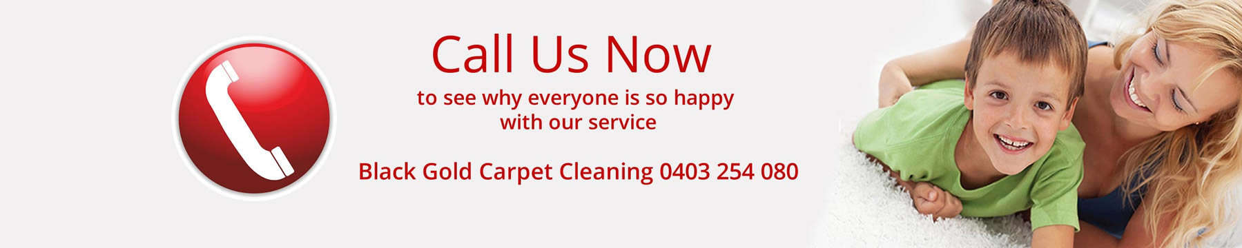 Carpet cleaning Melbourne service call to action