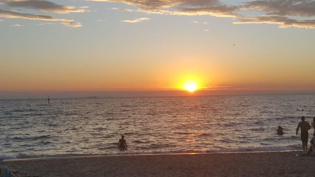 Carpet cleaning Elwood Beach sunset