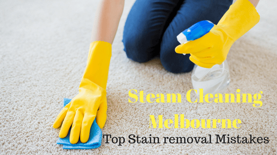 steam cleaning Melbourne mistakes