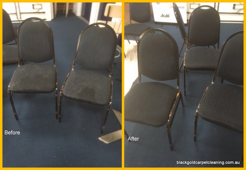 Cleaning upholstery chairs