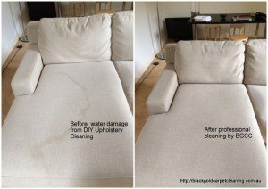 DIY upholstery cleaning Melbourne